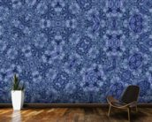 Center Of Mobius Blue mural wallpaper kitchen preview