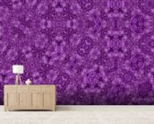 Center Of Mobius Purple wall mural living room preview