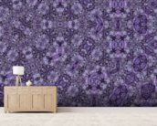 Center Of Mobius Mauve wallpaper mural living room preview