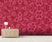 Center Of Mobius Red mural wallpaper living room preview