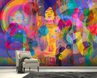 Crazy Rainbow Mural Wallpaper Wall Murals Wallpaper