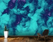 Softly Softly Turquoise wall mural kitchen preview