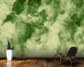 Softly Softly Lake Green wallpaper mural kitchen preview