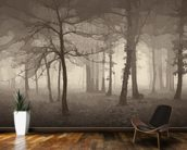 Delusion - Sepia wall mural kitchen preview