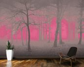 Delusion - Pink wallpaper mural kitchen preview