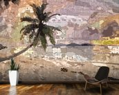 Seychelles Natural wall mural kitchen preview