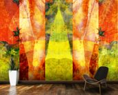 Tears in Heaven Yellow mural wallpaper kitchen preview