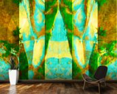 Tears in Heaven Green wall mural kitchen preview