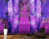 Tears in Heaven Purple wallpaper mural kitchen preview