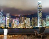 hong kong skyline wall mural hong kong skyline wallpaper wallsauce