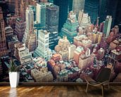 New York Downtown wallpaper mural kitchen preview