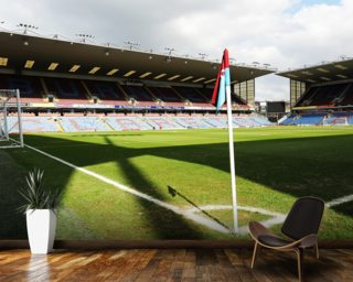Turf Moor From Corner Flag Wall Mural Wallpaper Part 90