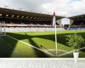 Turf Moor from Corner Flag wall mural in-room view