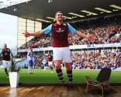 Vokes Goal Celebration wall mural kitchen preview
