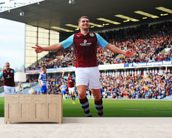 Vokes Goal Celebration wall mural living room preview