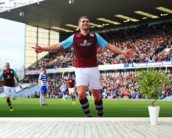 Vokes Goal Celebration wall mural in-room view