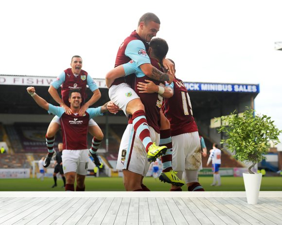 Vokes and Team Celebrate wallpaper mural room setting