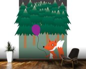 Fox in the Woods (2013) wall mural kitchen preview