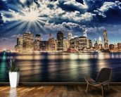 Lower Manhattan from Brooklyn wall mural kitchen preview