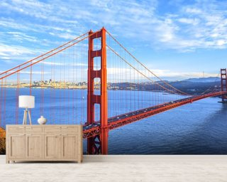 Bridge, San Francisco Wallpaper Wall Murals