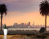 San Francisco from Treasure Island. wallpaper mural kitchen preview