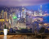 Hong Kong Island Skyline wall mural kitchen preview