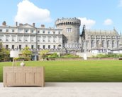 Dublin Castle wall mural living room preview