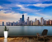 Chicago Skyline wall mural kitchen preview