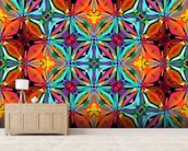 Unity mural wallpaper living room preview