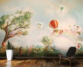 The Meadow wallpaper mural kitchen preview