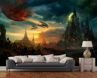 Sosheskaz Falls Mural Wallpaper Wall Murals Wallpaper