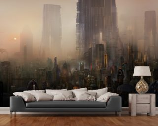 Cohabitations Mural Wallpaper Wall Murals Wallpaper