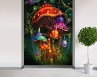 Enchanted Evening wallpaper mural