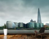 The Shard, London mural wallpaper kitchen preview