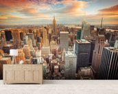 Midtown Manhattan wall mural living room preview