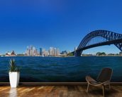 Sydney Harbour Skyline Panorama mural wallpaper kitchen preview