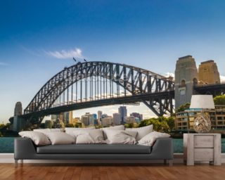 Sydney Harbour Bridge, Australia wall mural