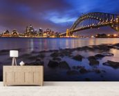 Sy Mils Set Low Tide mural wallpaper living room preview
