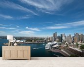 Sydney Skyline and Opera House wall mural living room preview