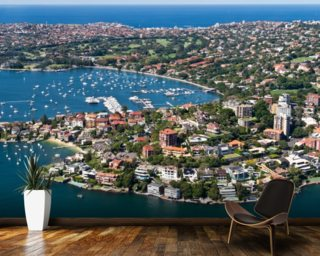 Beautiful Rose Bay, Sydney wall mural