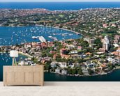 Beautiful Rose Bay, Sydney wall mural living room preview