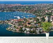 Beautiful Rose Bay, Sydney wall mural in-room view