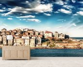 Bondi Beach panoramic - Sydney wallpaper mural living room preview