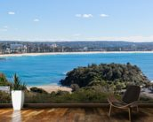 Manly Beach, Sydney, Australia - Panoramic wall mural kitchen preview
