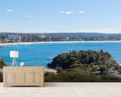Manly Beach, Sydney, Australia - Panoramic wall mural living room preview