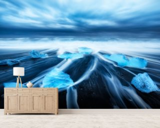 Beautiful In Blue Wall Murals Wallpaper