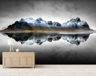 Vesturhorn Reflection wallpaper mural