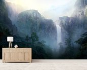 Afternoon Light wall mural living room preview