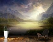 Silent Morning wall mural kitchen preview