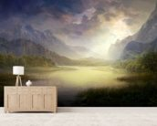 Silent Morning wall mural living room preview